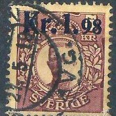 Sellos: SUECIA 1917 SELLO PARA PAQUETES POSTALES. Lote 58680853
