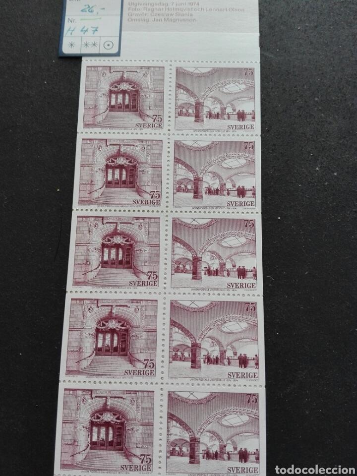 CARTERITA SUECIA 1974 C47 (Sellos - Extranjero - Europa - Suecia)