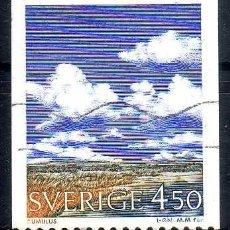 Briefmarken - SUECIA 1990 - METEREOLOGIA - YVERT 1617 USADO - 72395707