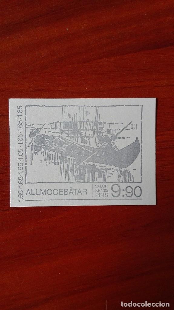 SUECIA BARCOS 1981 CARNET (Sellos - Extranjero - Europa - Suecia)
