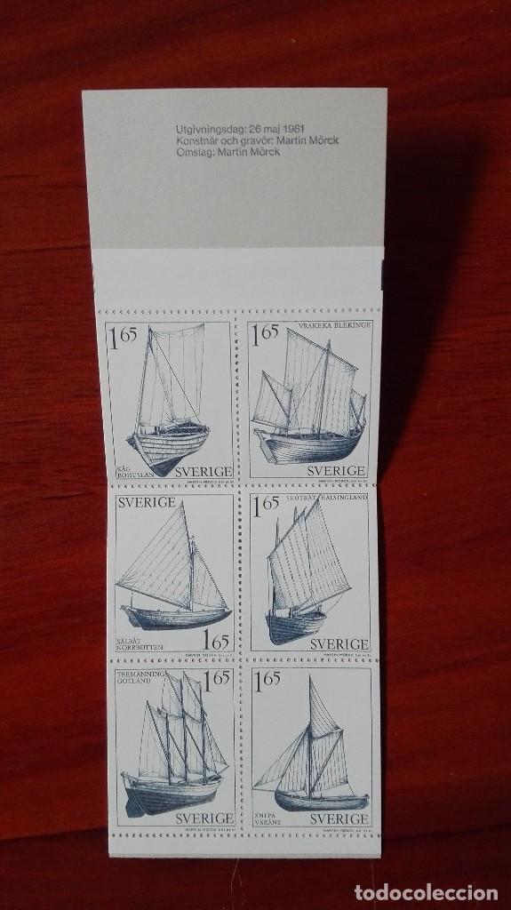 Sellos: Suecia barcos 1981 carnet - Foto 2 - 87418604