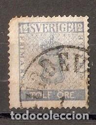SUECIA. 1858-70. YV Nº 8 (Sellos - Extranjero - Europa - Suecia)