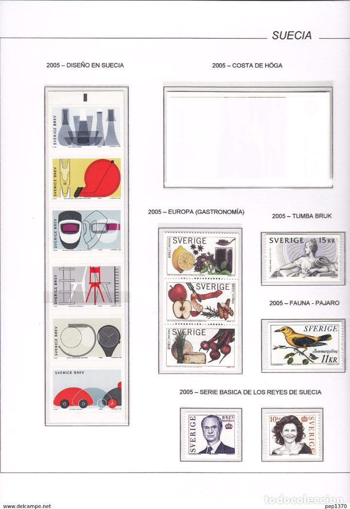 SUECIA 2005 - AÑO CASI COMPLETO EN HOJAS DE ALBUM (VER TODAS LAS IMAGENES)  (CATALOGO 130 dd07fa382cb