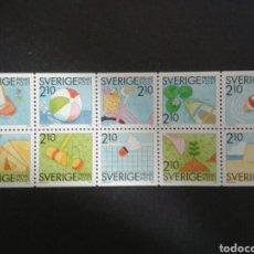 Briefmarken - SUECIA. YVERT 1524/33. SERIE COMPLETA NUEVA SIN CHARNELA. VERANO - 101664207