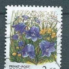 Briefmarken - Suecia,1993,flores,yvert 1766,usado - 107390840