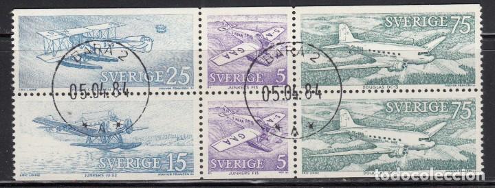 SUECIA , 1972 YVERT Nº 740 / 743 (Sellos - Extranjero - Europa - Suecia)