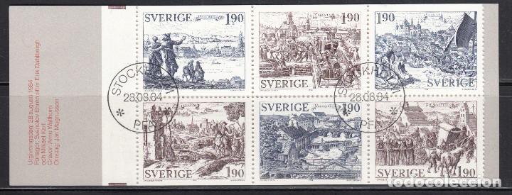 SUECIA , 1984 YVERT Nº 1274 / 1279 , C1274 (Sellos - Extranjero - Europa - Suecia)
