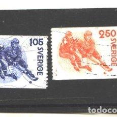 Sellos: SUECIA 1979 - MICHEL NRO. 1053-54 - USADOS -. Lote 109492199