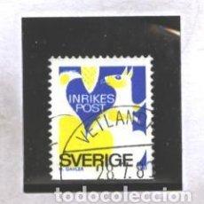 Sellos: SUECIA 1980 - MICHEL NRO. 1105DU - USADO -. Lote 109504863