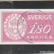 Sellos: SUECIA 1984 - YVERT NRO. 1251 - USADO. Lote 109927871