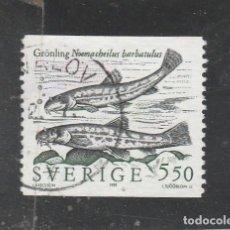 Sellos: SUECIA 1991 - YVERT NRO. 1635 - USADO. Lote 109972559