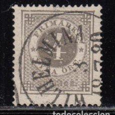 Sellos: SUECIA , YVERT Nº 17 B , DENTADO 14. Lote 112257371