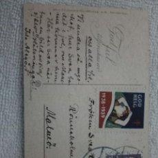Sellos: POSTAL SUECO 1938. Lote 112555031