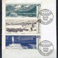 Briefmarken - SUECIA - SELLOS USADOS SOBRE PAPEL - 131622630