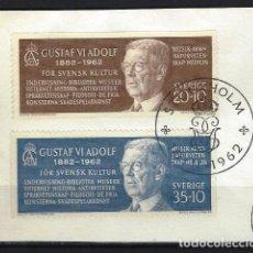 Briefmarken - SUECIA - SELLOS USADOS SOBRE PAPEL - 131622778