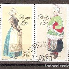 Briefmarken - SUECIA. 1979. YT 1073,1074. TRAJES REGIONALES - 133460574