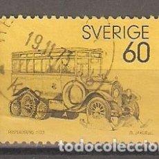 Sellos: SUECIA. 1973. YT 769. COCHE POSTAL. Lote 133465498