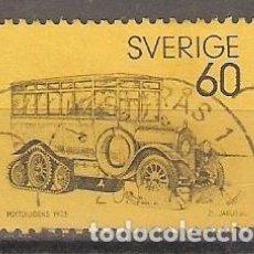 Sellos: SUECIA. 1973. YT 769. COCHE POSTAL. Lote 133465514