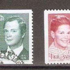 Sellos: SUECIA. 1976. YT 925,926, 925B. Lote 133466230