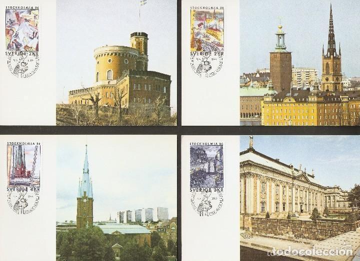 SUECIA. CARTA MÁXIMA. 1985. STOCKHOLMIA 86 (Sellos - Extranjero - Europa - Suecia)