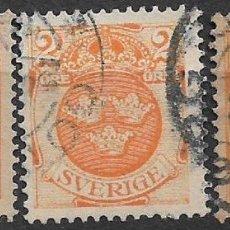 Sellos: SUECIA 1910-SC 68 USED - 18/18. Lote 146581898