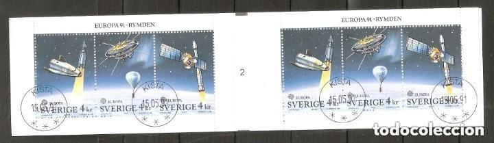 SUECIA. 1991. CARNET YT .C1653. ESPACIO (Briefmarken - Internationale - Europa - Schweden)
