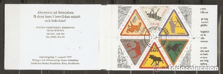 SUECIA . 1998. CUADERNILO. C-1992 (Sellos - Extranjero - Europa - Suecia)