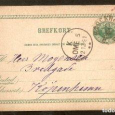 Sellos: SUECIA.1891.ENTERO POSTAL. P.6. STOCKHOLM.. Lote 147388870