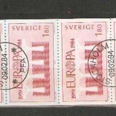 Briefmarken - SUECIA. 1984. CUADERNILLO C1252 - 147389010