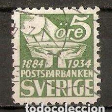 Sellos: SUECIA. 1933. YT 228A. CAT 30€. Lote 147390450