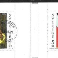 Sellos: SUECIA - CARNET. Lote 147453958