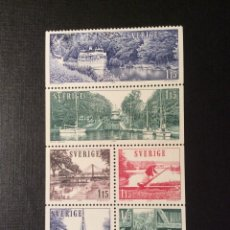 Sellos: SUECIA Nº YVERT 1047/2*** AÑO 1979. TURISMO. CANAL GOTA. Lote 193187540