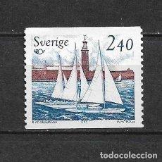 Sellos: SUECIA 1983 ** NUEVO SC 1455 A441 2.40K SAILING 1.00 BARCOS - 3/7. Lote 155489110