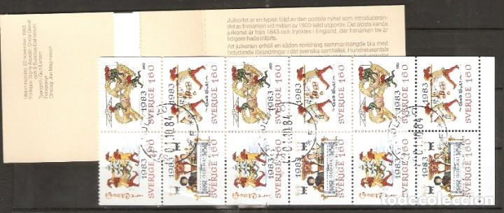 SUECIA. 1983 .CUADERNILLO. C1240 (Briefmarken - Internationale - Europa - Schweden)