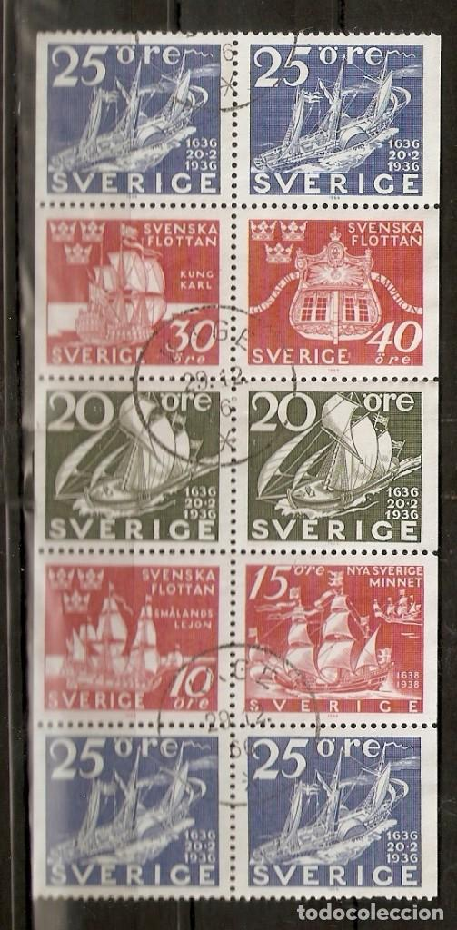 SUECIA.1966 .TIRA DE CARNET. C546 (Briefmarken - Internationale - Europa - Schweden)