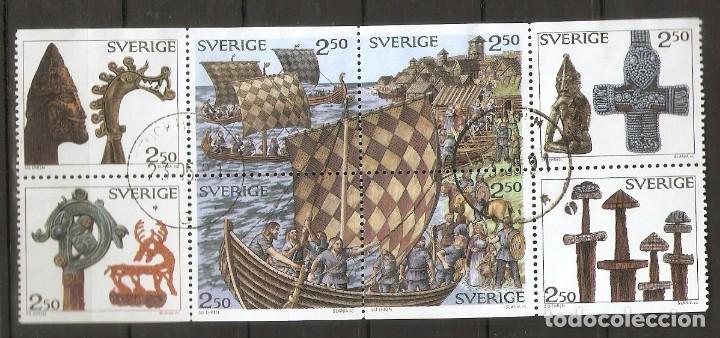 SUECIA.1990 .TIRA DE CARNET. C1575 (Briefmarken - Internationale - Europa - Schweden)