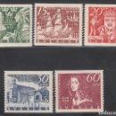 Sellos: SUECIA. 1938 YVERT Nº 249 / 253 /*/ . Lote 159888674