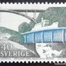 Sellos: 1968. VARIOS. SUECIA. 582. CANAL DE DALSLAND Y ACUEDUCTO DE HAVERUD. SERIE COMPLETA. NUEVO.. Lote 168277800