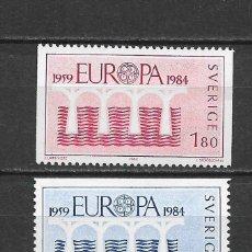 Sellos: SUECIA 1984 ** NUEVO EUROPA CEPT - 5/47. Lote 168372680