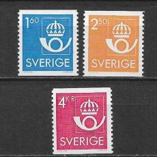Sellos: SUECIA 1983 ** NUEVO SERIE BASICA - 5/48. Lote 168390372