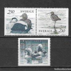 Sellos: SUECIA 1986 ** NUEVO AVES - 5/48. Lote 168390576