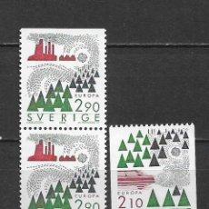 Sellos: SUECIA 1986 ** NUEVO EUROPA CEPT - 5/48. Lote 168390872