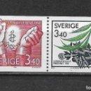 Sellos: SUECIA 1986 ** NUEVO - 5/48. Lote 168391024