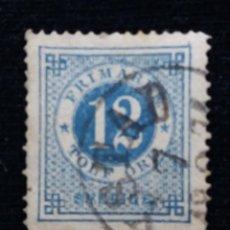 Sellos: SUECIA, SVERIGE 12 TOLF ORE FRIMARKE, AÑO 1939.. Lote 170022784