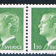 Sellos: SUECIA 1976 SELLO DOBLE MNG YVES 915. Lote 171361957