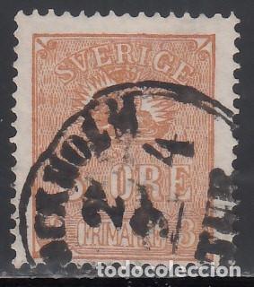 SUECIA, 1862-66 YVERT Nº 12, * TIPO I * (Sellos - Extranjero - Europa - Suecia)