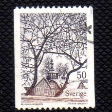 Sellos: SUECIA 1973 - PAISAJE R.LJUNGGREN - YVERT 781 USADO - PAPEL FLUORESCENTE. Lote 178351335