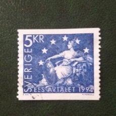 Sellos: SUECIA, SVERIGE 5 KR, EES ABALET, AÑO 1994. SIN USAR. Lote 178375785