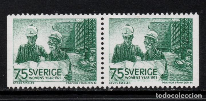 SUECIA 871B** - AÑO 1975 - AÑO INTERNACIONAL DE LA MUJER (Sellos - Extranjero - Europa - Suecia)