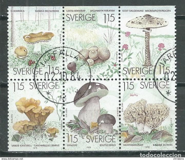 SELLOS USADOS DE SUECIA, YT 1021/ 26 (Sellos - Extranjero - Europa - Suecia)